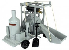 Toy, Buddy L Concrete Mixer #280, Pressed Steel, Exc Pr