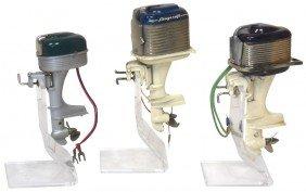 Miniature Outboard Motors (3), K & O Langcraft, B