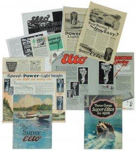 Boat Dealer Advertising Literature, 10+ Pcs Of El