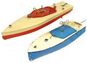 Toy Boats (2), Hornby & Possible JEP Tin Windu