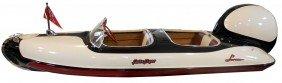 Speed Boat, Larson Falls Flyer, All Fiberglass, C