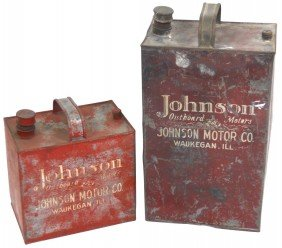 Outboard Motor Oil/gas Cans, Johnson Outboard Mot