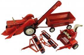 Farm Toys (4), Tru-scale Silage Or Hay Chopper, Exc