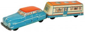 Toy Car & Trailer, Wolverine Mystery Car And Trailer,