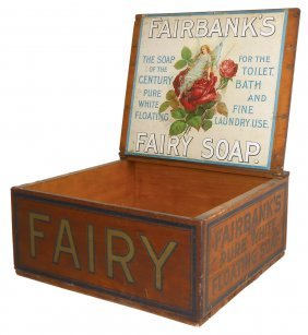 Country Store Counter Display Box, Fairbank's Pure