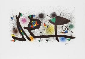 Joan Miro, Sculptures (M. 950), Lithograph