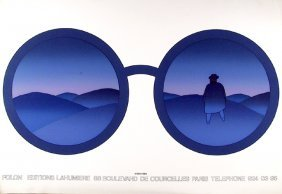 Jean Michel Folon, Editions Lahumiere, Serigraph