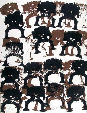 Arman, Samurai, Serigraph