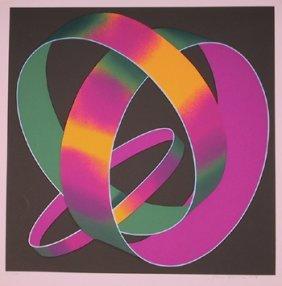 Jack Brusca, Whisper Theme, Silkscreen