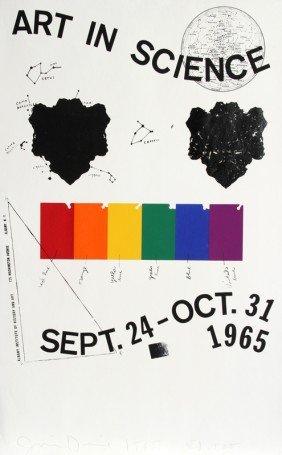 Jim Dine, Art In Science, Silkscreen