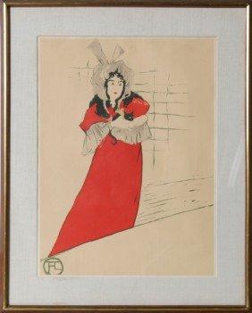 Henri De Toulouse-Lautrec, May Belfort, Poster