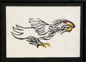 Alexander Calder, Eagle, Lithograph