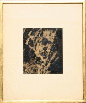 Lou Fink, Harlem, Watercolor