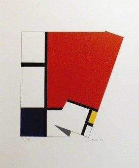 Jacobs, Piece De Resistance, Serigraph