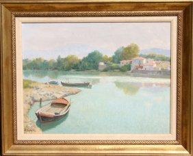 Roberto Sgrilli, Oil Painting