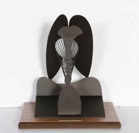 Pablo Picasso, The Lady, Cor-ten Steel Sculpture