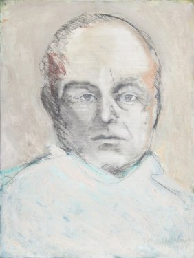John MacWhinnie, Portrait Of Truman Capote, Mixed