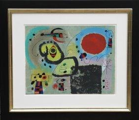 Joan Miro, Centennair Pour Mourlot Lithograph 1953