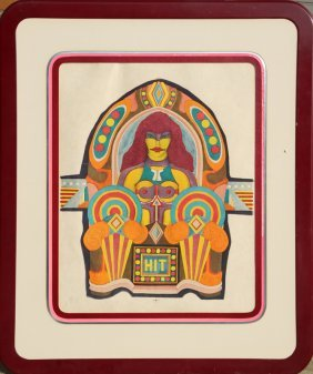 Richard Lindner, Hit, Lithograph