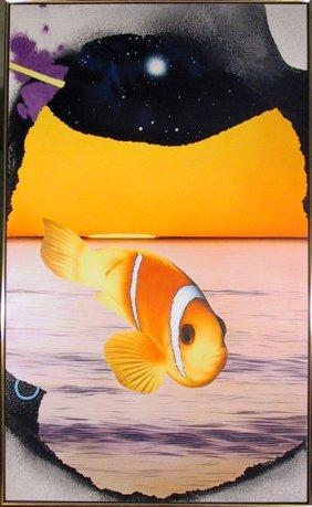 Michael Knigin, Broken Silence, Painting