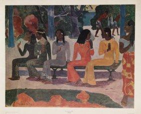 Paul Gauguin, Ta Matete, Poster