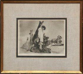 Francisco De Goya, Tampoco From From Los Desastres