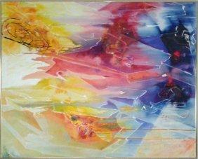 Lamont Ferguson, Primary Abstract, Fused Plastic On