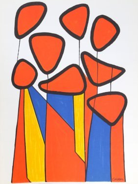 Alexander Calder, Untitled From Xxe Siecle, Lithograph