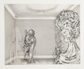 Hans Georg Rauch, Four Ladies In A Windowless Room,