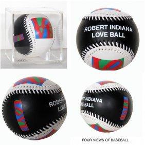 Robert Indiana, Love Collectible Baseball