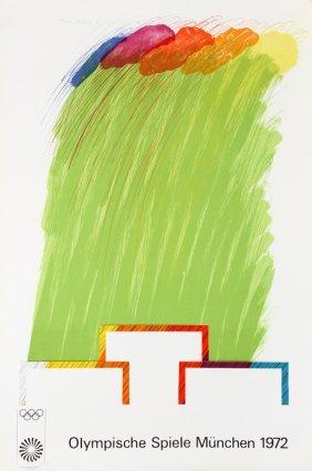 Richard Smith, Munich Olympics 1972, Lithograph And