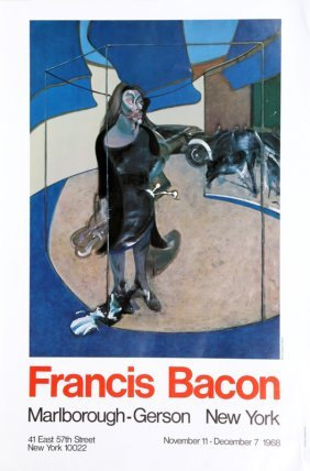 Francis Bacon, Exhibition At Marlborough/gerson