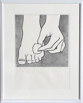 Roy Lichtenstein, Foot Medication (c. App. 3), Offset