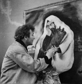 Boris Lipnitzki, Chagall With Solitude, Photograph