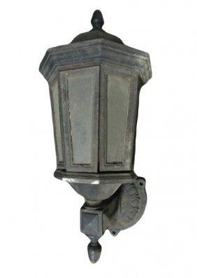 Cast Iron Gas Street Lamp