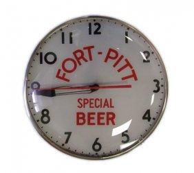 Fort Pitt Beer Advertising Clock