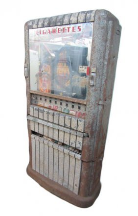 Art Deco Rowe Cigarette Machine