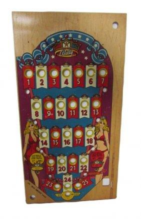 New Old Stock Bally Miss America Bingo Pinball