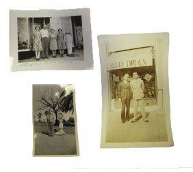Three Original Coin Op Location Photos