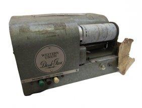 1950's Western Union Telegraph Machine