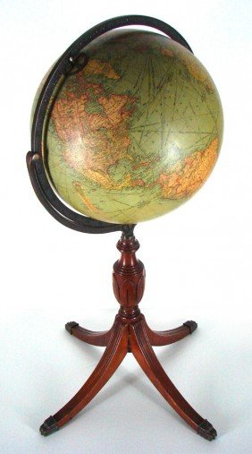 Decorative Arts: Repogle Globe (early 20th Century)