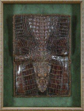 Decorative Arts: Crocodile Pouch