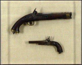 Decorative Arts: 18th Century Pistols