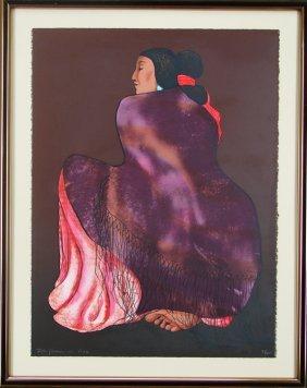 R. C. Gorman (1931-2005) Native American