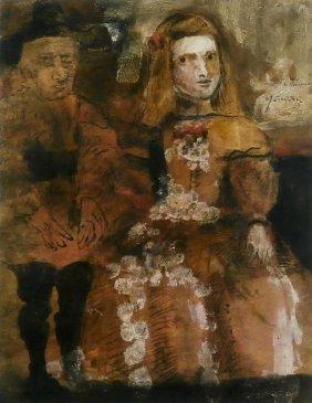 Leonel Gongora (1932-1999) Columbian