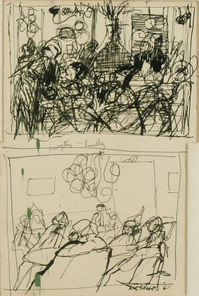 Arnold Mesches (b. 1923) New York