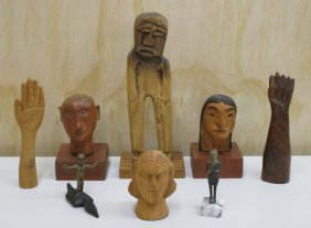 Ethnic Carvings (eight)
