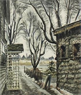 Charles Burchfield (1893-1967) New York