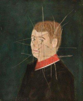 Craigie Aitchison (1926-2009) Self Portrait