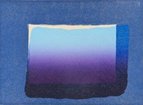 Howard Hodgkin (b.1932) Sky, From 'More Indian Vie